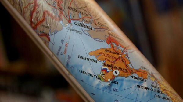 Крым на карте - Sputnik Latvija