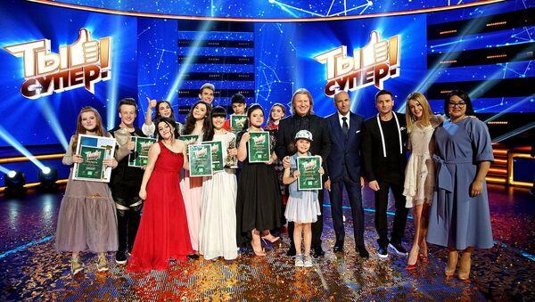 НТВ объявляет о запуске третьего сезона Ты супер! - Sputnik Латвия