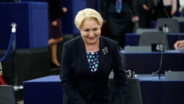 Премьер-министр Румынии Виорика Дэнчилэ - Sputnik Латвия