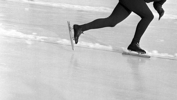 Спортсмен-конькобежец  - Sputnik Латвия