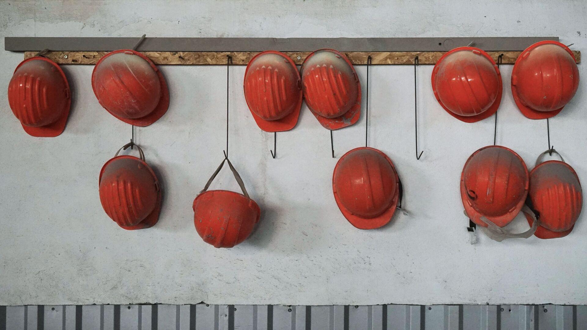 Каски рабочих - Sputnik Latvija, 1920, 25.09.2021