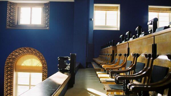 Зал заседаний эстонского парламента - Sputnik Латвия