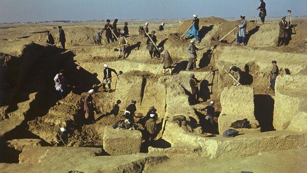 Раскопки совместной советско-афганской археологической экспедиции - Sputnik Латвия
