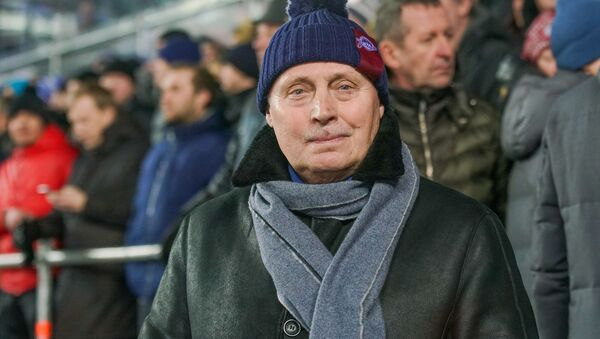 Председатель Совета АО Динамо Рига Юрис Савицкис - Sputnik Latvija