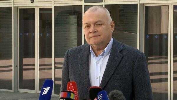 Дмитрий Киселев о Вышинском: То, что происходит с ним сейчас — настоящая пытка - Sputnik Латвия