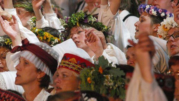 Vislatvijas Dziesmu un deju svētki - Sputnik Latvija