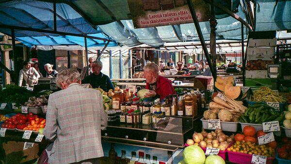 Рынок в Риге - Sputnik Латвия