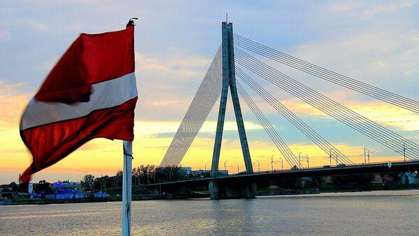 Вантовый мост в Риге - Sputnik Латвия