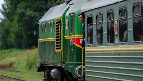 поезд в Латвии - Sputnik Latvija