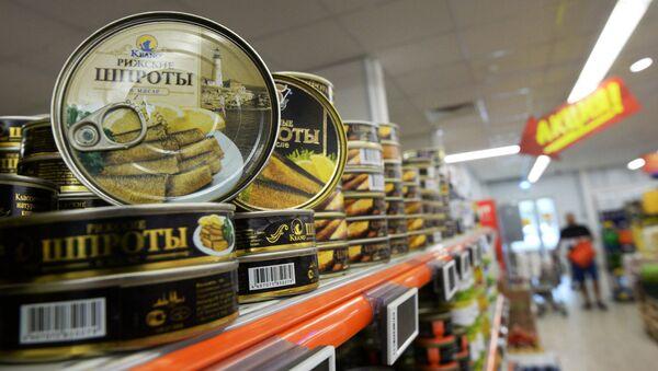 Рыбные консервы из Латвии - Sputnik Латвия