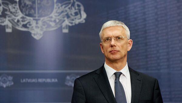 Премьер-министр Латвии Кришьянис Кариньш - Sputnik Латвия