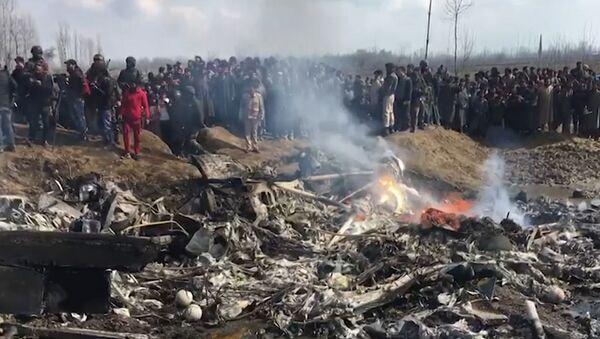 Появилось видео сбитых Пакистаном самолетов ВВС Индии - Sputnik Латвия