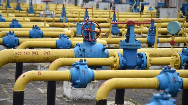 Газодобывающее предприятие компании «Укргаздобыча» во Львовской области - Sputnik Латвия