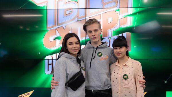 Пресс-конференция, посвященная третьему сезону шоу Ты супер! - Sputnik Латвия