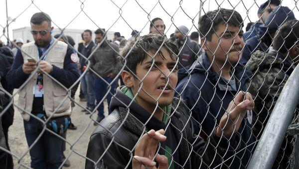 Ситуация с беженцами - Sputnik Латвия