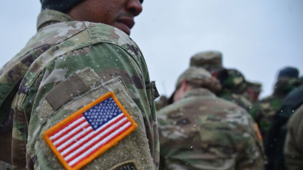 Совместные военные учения США и Румынии в рамках операции Атлантическая решимость, архивное фото - Sputnik Latvija