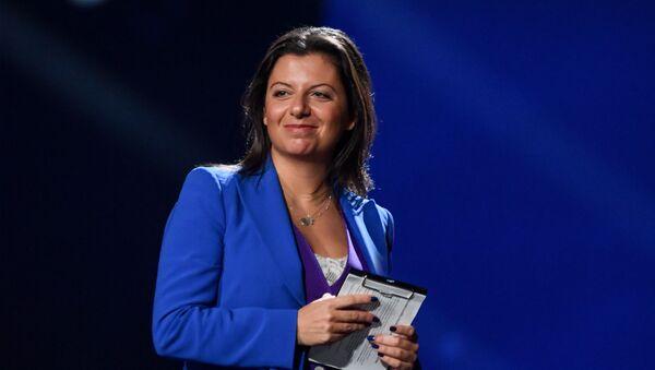 Главный редактор телеканала RT и МИА Россия сегодня Маргарита Симоньян - Sputnik Латвия