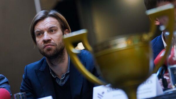 Президент Латвийской футбольной федерации Каспарс Горкшс - Sputnik Латвия