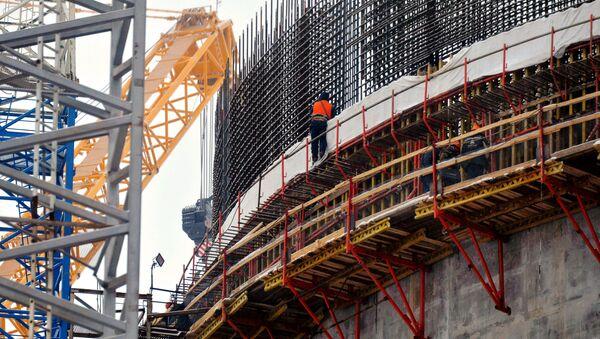 Строительство Белорусской АЭС - Sputnik Latvija