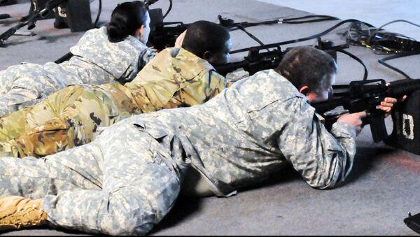 Солдаты армии США - Sputnik Латвия
