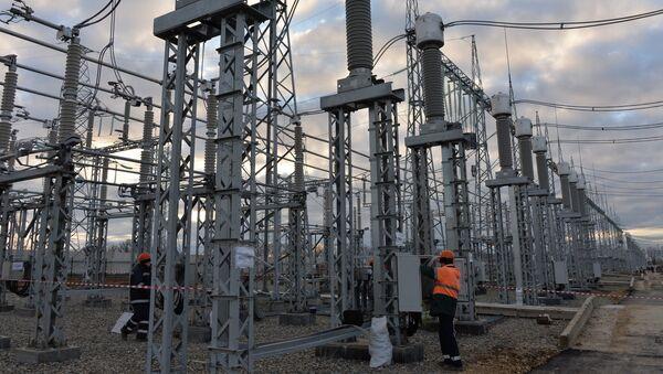 Строительство энергомоста через Керченский пролив - Sputnik Latvija