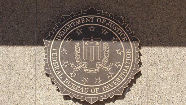 Эмблема Федерального Бюро Расследований США (ФБР) - Sputnik Латвия