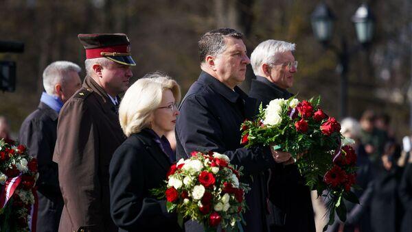 Шествие в День памяти жертв коммунистического террора - Sputnik Латвия