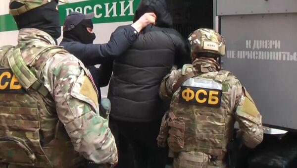 Опубликована видеозапись задержания боевиков в Крыму - Sputnik Латвия