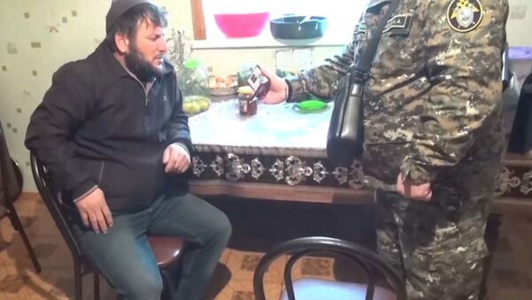 Задержан пособник исполнителя терактов в метро Москвы - видео - Sputnik Латвия