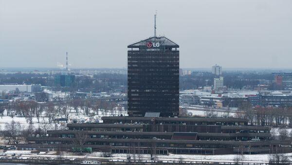 Здание Латвийского телевидения - Sputnik Латвия