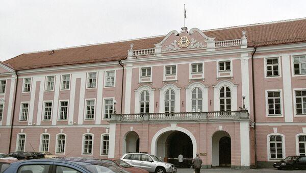 Здание эстонского парламента в Таллине - Sputnik Латвия