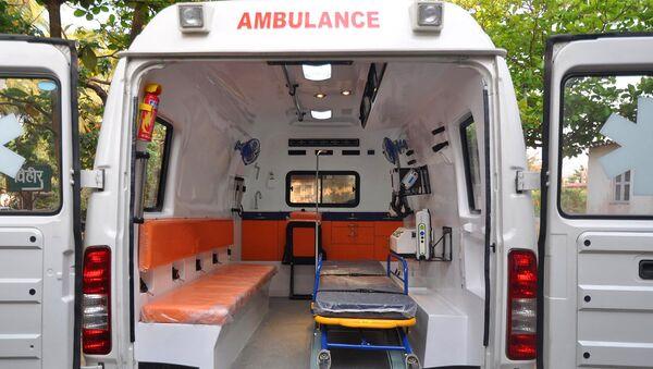 Машина скорой медицинской помощи - Sputnik Латвия