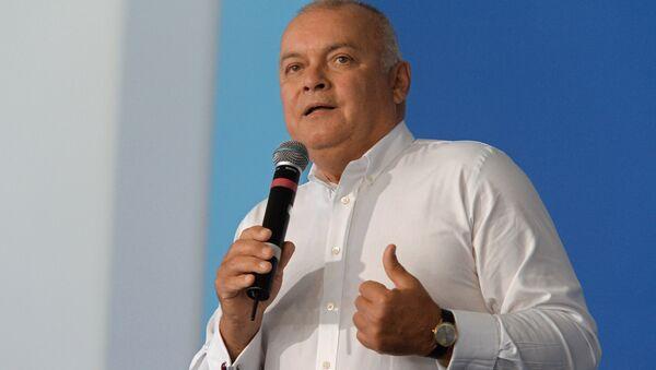 Генеральный директор МИА Россия сегодня Дмитрий Киселев. Архивное фото - Sputnik Латвия