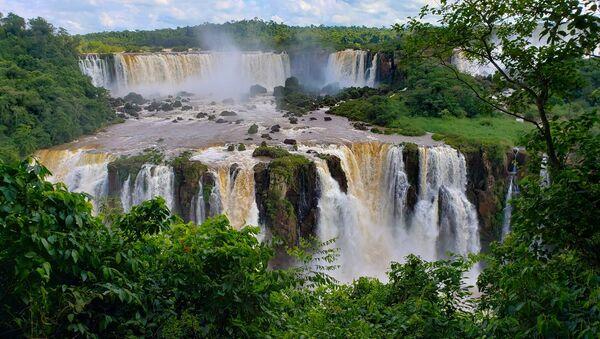 Водопады Игуасу, Бразилия/Аргентина - Sputnik Латвия
