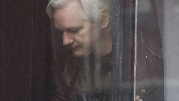 Основатель WikiLeaks Джулиан Ассанж - Sputnik Latvija
