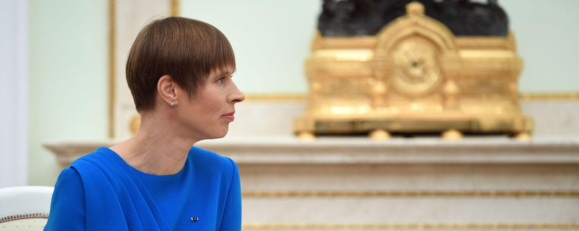 Президент РФ В. Путин встретился с президентом Эстонии К. Кальюлайд - Sputnik Латвия, 1920, 25.02.2020