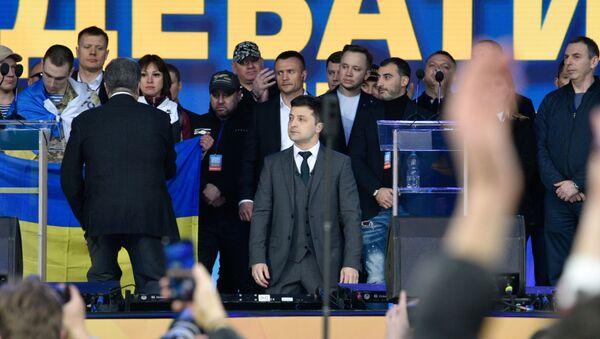 Дебаты кандидатов в президенты Украины - Sputnik Latvija