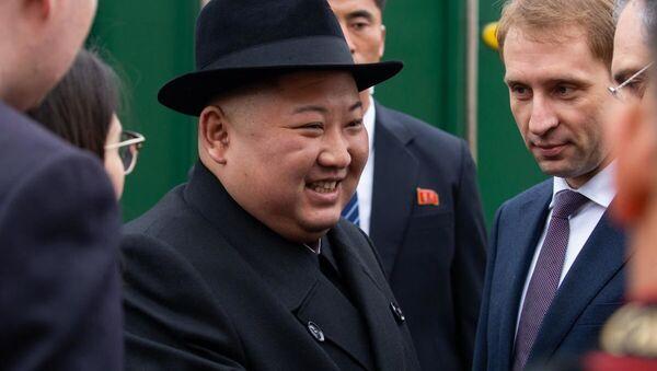 Лидер КНДР Ким Чен Ын прибыл в Россию - Sputnik Latvija