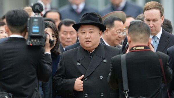 Лидер КНДР Ким Чен Ын прибыл во Владивосток - Sputnik Latvija