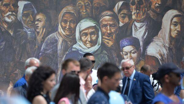 День памяти жертв депортации народов Крыма - Sputnik Латвия