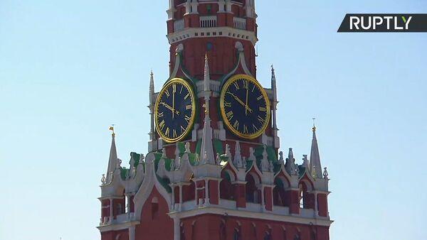 Шествие профсоюзов на Красной площади - Sputnik Латвия