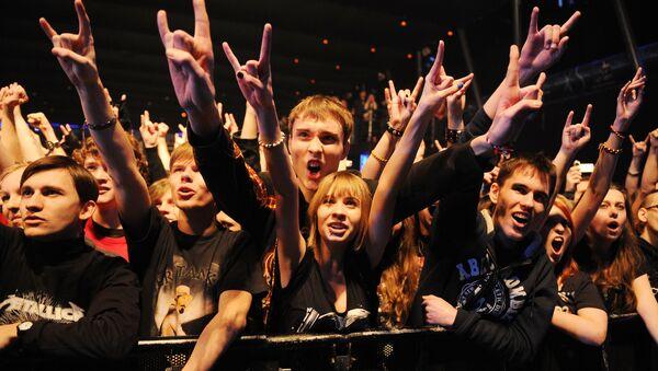 Концерт панк-рок группы Misfits в Москве - Sputnik Латвия