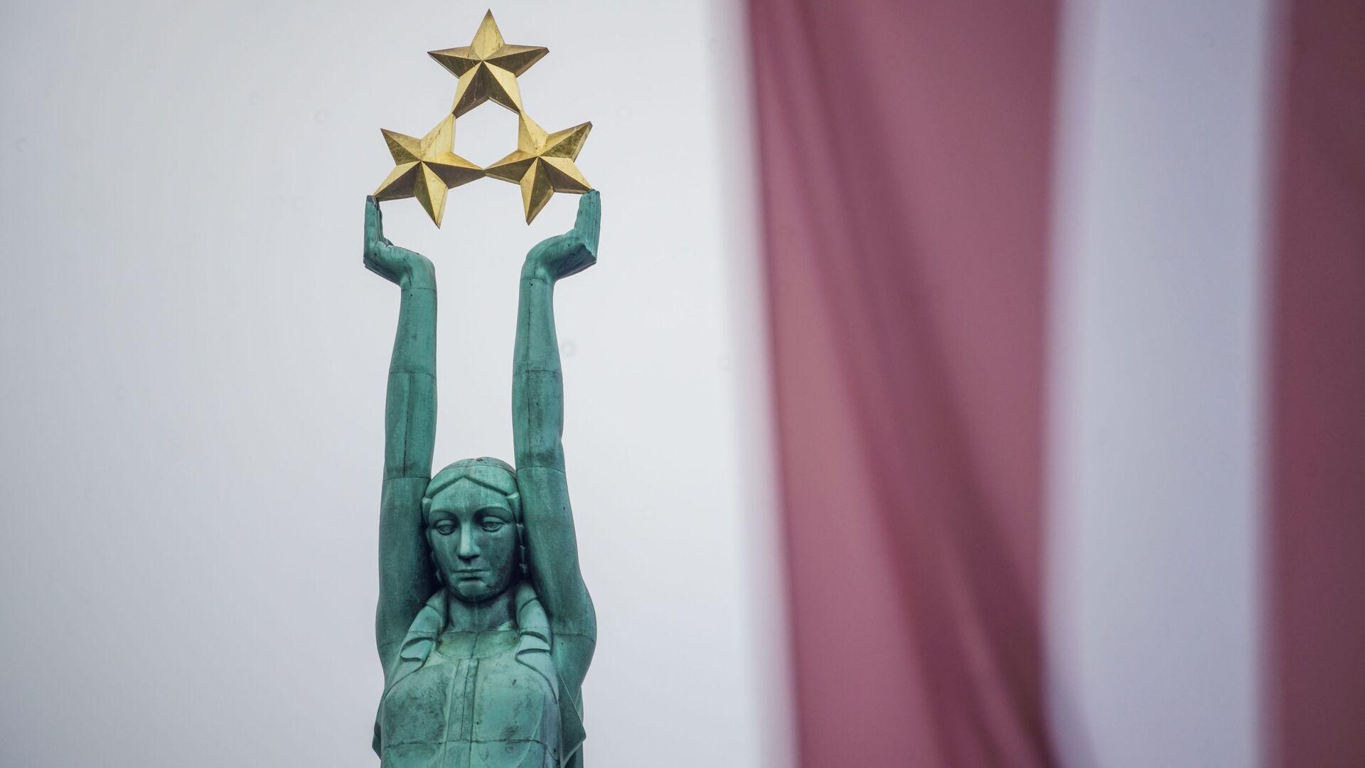 Празднование годовщины восстановления независимости Латвийской Республики в Риге  - Sputnik Латвия, 1920, 07.08.2021