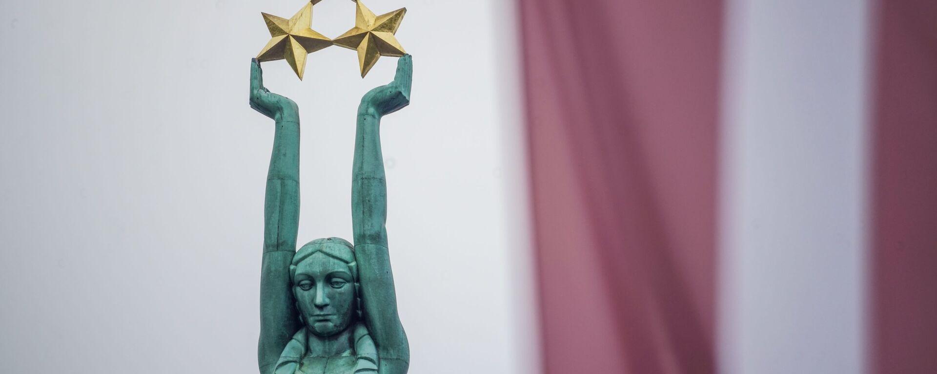 Празднование годовщины восстановления независимости Латвийской Республики в Риге  - Sputnik Латвия, 1920, 06.07.2021