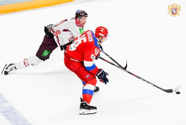 Контрольный матч по хоккею Латвия - Россия - Sputnik Латвия