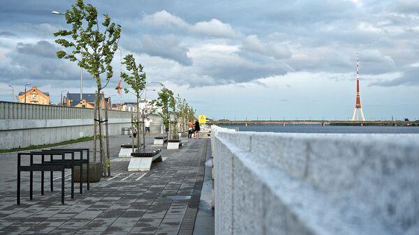Rīgas krastmala. Foto no arhīva - Sputnik Latvija