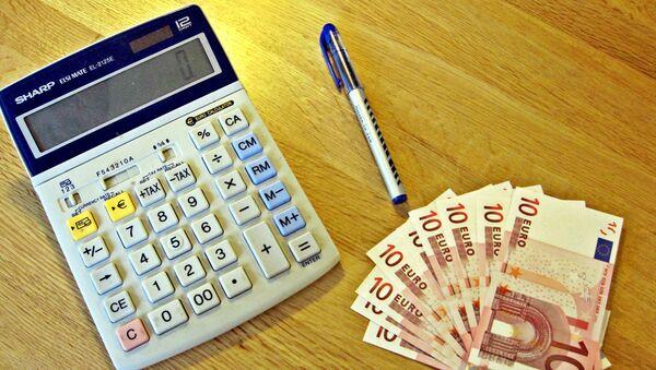 Калькулятор и евро - Sputnik Латвия