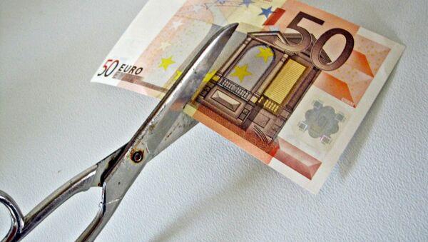 Банкнота евро - Sputnik Латвия