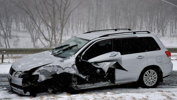 Дорожно-транспортное происшествие - Sputnik Латвия