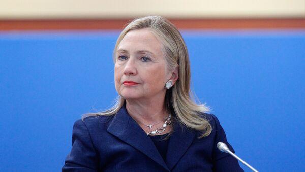 Хиллари Клинтон на заседании лидеров экономик АТЭС - Sputnik Латвия